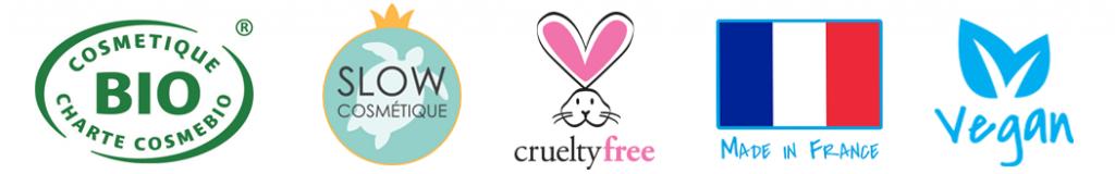 bio, slow cosmétique, crueltyfree, vegan France